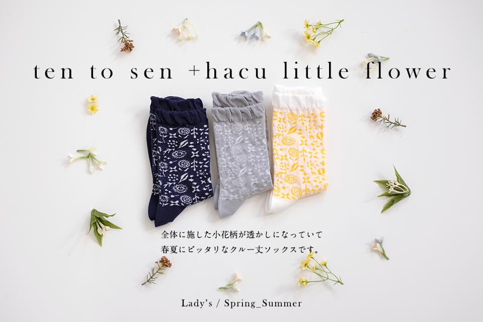 ten to sen +hacu little flower